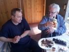 Валерий А. Пахомов UA3AO: =А в Питере под баранину коньяк пьют?= HI.