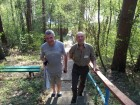 Сергей RX3AKT и Владимир RA3AAE первые открыли купальный сезон.