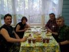 Вадим UA3DW, Лариса UA3DW/XYL, Виталий UA3AJO и Евгений UA3DAF.