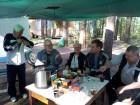 Встреча у =чайного стола= - Владислав RU3ARJ, Валерий UA3AO, Юрий UA3HR, Виктор RX3DRZ и Алексей RA3AKF.
