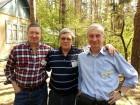 Леонид UA3ADW, Валерий RN3BW и Виталий RZ3BP