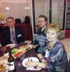 Виктор RV3AI, Павел RZ3ARQ и Людмила RA3AKM/XYL.