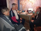Виктор RX3DRZ, Сергей RX3AKT и Сергей RA3AJD - ночные посиделки.