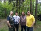 Алексей RA3AKF, Виктор RX3DRZ, Михаил RA3AGA и Александр RN3DHB.