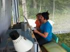 Юные операторы школьной радиостанции RK3PWR.
