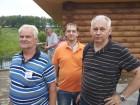 Юрий RV3AB, Сергей RX3AKT (на заднем плане), Виктор и Анатолий UA3DCI.