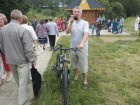 Сергей RX3AKT с =конём=, который помог ему добраться до места Встречи.