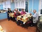 В столовой - ужин после узбекского плова.