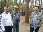 Игорь RU3ATJ, Владимир RK3AGC и Вадим UA3DW.