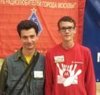 Самые юные участники слёта - Сергей RW3ACQ и Владислав RD3AOU.