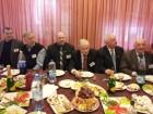 За праздничным столом слева направо: Владимир RN3AEX, Олег RU3AS, Юрий В. Кропотов, Сергей RK3BJ, Владимир RW3BG и Владимир RW3BM
