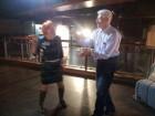 Ольга и Юрий показали мастер-класс по танцам
