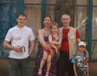 Дмитрий, Екатерина UA3AW/XYL, Олеся UA3AW/KID, Дмитрий UA3AW и Костя UA3AW/KID