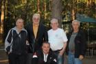 Фотография на память. Радиолюбители г. Серпухова и Валерий Алексеевич Пахомов UA3AO