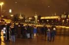 Выйдя из ресторана, участники Встречи любовались вечерней Москвой.