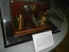Один из экспонатов Политехнического музея, связанный с именем А.С. Попова.