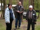 Участники слёта: Стефанка, Асен и Борис.