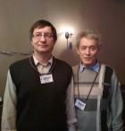 Сергей R2AOW и Евгений RX3ACE.