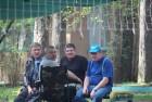 Посиделки - Виктор RX3DRZ, Алексей RA3AKF, Павел RK3ADW и Михаил RA3AGA