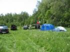 1-я команда МРК расположилась на опушке леса