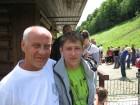 Владимир UA3PKJ со своим внуком.