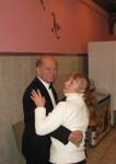 На Новогодней Встрече были и танцы. В них приняли участие Виктор RG3A и Татьяна RA3BU/XYL