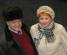Дед Мороз RA3AKM и Снегурочка Ольга