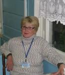 Ольга - главный помощник RA3AKM-a на слёте.