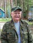 Геннадий Григорьевич RZ3CC всегда в отличной физической форме.