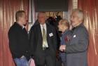 На Встрече были не только приветствия и тосты, но и обсуждались разные, волнующие многих радиолюбителей, вопросы. КМС Сергей UB3AHT, Владимир R2AID, Борис RL3AP и Геннадий UA4FU