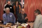 Дружеский разговор за праздничным столом. В нём приняли участие: Юрий UA3BV, Дмитрий RX3DPK, Элла RX3DPK/XYL, Константин RT3A и Юрий R3C-113