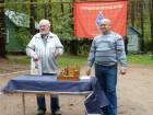 Открытие официальной части слёта. Валерий UA3AO и Юрий RA3AKM.