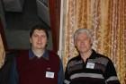 Новые знакомства со старыми друзьями, с которыми в основном встречаемся в эфире... Демид RN3AUR и Юрий UA3BV.