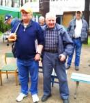 Фотография на память. Геннадий Григорьевич Шульгин RZ3CC и Владилен Ильич Чулков UA3GC.