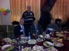 За праздничным столом: Владимир RW3BG, Юрий UA3AV, Владимир RW3BM и Геннадий UA4FU.