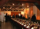 Праздничный стол для участников Новогодней встречи московских радиолюбителей накрыт!