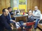 Завтракают: Карим UK8OCA, Владимир RN3AEX, Владислав RD3AOU и Валерий UA3AO.