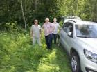 Новые участники фестиваля - Владимир UA3PKJ, Анатолий UA3DCI и Виктор.