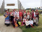 Главные участники фольклорного фестиваля.