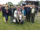 Фотография на память о встрече радиолюбителей на Венёвской земле.