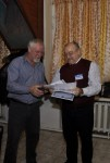 Юрий R2ABD получает Благодарность за активное участие в работе Московского радиоклуба.